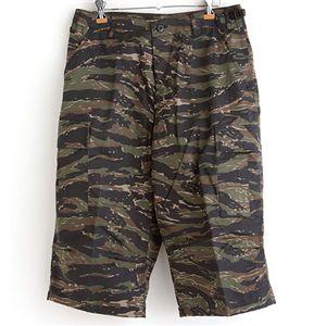 アメリカ軍 BDU クロップドカーゴパンツ /迷彩服パンツ 【 Lサイズ 】 タイガー 【 レプリカ 】  - 拡大画像