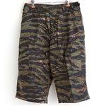 アメリカ軍 BDU クロップドカーゴパンツ /迷彩服パンツ 【 Lサイズ 】 タイガー 【 レプリカ 】