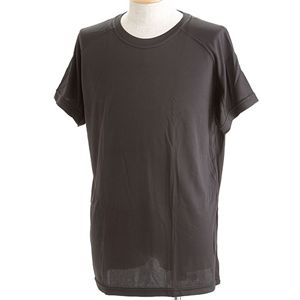J. S.D.F.(自衛隊)採用吸汗速乾半袖 Tシャツ2枚 SET S ブラック - 拡大画像