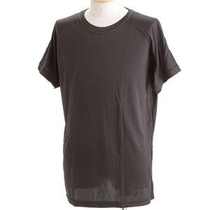 J. S.D.F.(自衛隊)採用吸汗速乾半袖 Tシャツ2枚 SET L ブラック - 拡大画像