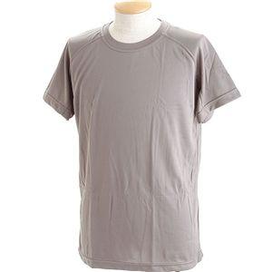 J. S.D.F.(自衛隊)採用吸汗速乾半袖 Tシャツ2枚 SET M グレー - 拡大画像