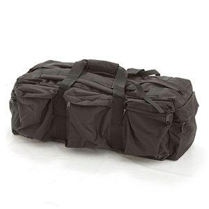 米軍防水布シーサックコンバットバッグレプリカ ブラック - 拡大画像
