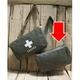 スイス軍放出 ビニール防水コーティングガスマスクバッグ 無地【中古】 - 縮小画像1