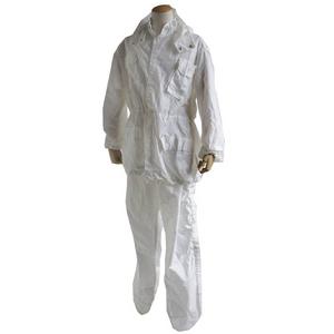 イタリア軍放出 レインスーツホワイト XL相当【中古】 - 拡大画像
