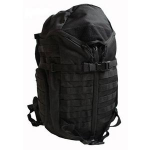 米軍 防水布使用3DAY中央ジッパーリュックサック ブラック
