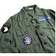 """アメリカ軍 OG-107 ファティーグシャツ/長袖 【 14 1/2 Sサイズ 】 柄/AIR FORCE """"B"""" 【 カスタム 】  - 縮小画像3"""