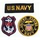 アメリカ軍 OG-107 ファティーグシャツ/長袖 【 14 1/2 Sサイズ 】 柄/NAVY 【 カスタム 】  - 縮小画像4