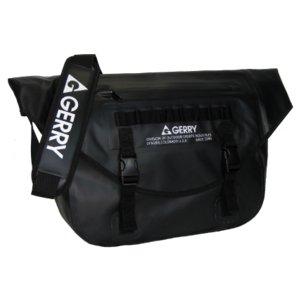 GERRY 超軽量完全防水メッセンジャーバッグ GE5005 ブラック - 拡大画像