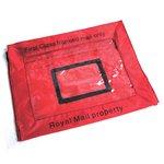 イギリス軍 放出 ロイヤルメールレターバッグ BE011NN レッド 【 デットストック 】 【 未使用 】