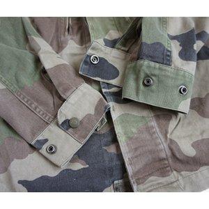 【訳あり・在庫処分】 フランス軍放出 F2ジャケット JJ004UNW L CCE カモフラージュ( 迷彩) 88( S相当) 【中古】