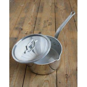 フランス軍放出 ソースパン/小鍋 【 直径18cm 】 Borgeat社製 アルミ製 EE336NN 〔未使用/デッドストック〕 - 拡大画像