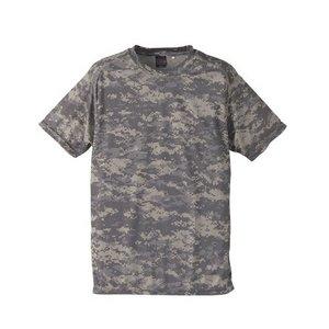 吸汗速乾ドライクールナイス カモフラージュ Tシャツ( 迷彩 Tシャツ) CB6589 ACU XLサイズ - 拡大画像