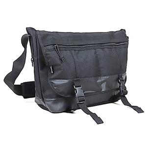 アメリカ軍 メッセンジャーバッグ/鞄 【 20 L 】 ポリエステルキャンバス地/ラバー 防水加工 B S124YN ブラック 【 レプリカ 】  - 拡大画像