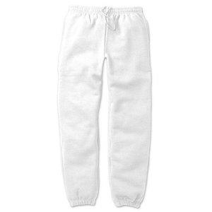 12.4ozヘビーウェイト裏起毛パンツ 7211 ホワイト XLサイズ - 拡大画像