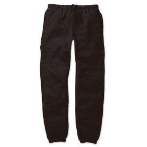 12.4ozヘビーウェイト裏起毛パンツ 7211 ブラック XLサイズ - 拡大画像
