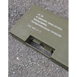 ドイツ軍放出 BWグレネードケース プラスチック B X103UN 【中古】  - 拡大画像