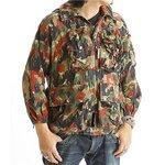 スイス軍放出 アルペンカモ(迷彩) フラージュマンテンジャケット JJ021UN 56(XL相当)【中古】