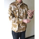 イギリス軍 放出 デザートDP Mシャツ J S032NN 96( M〜 L)サイズ 【 デッドストック 】 【 未使用 】