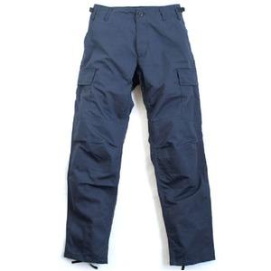 アメリカ軍 BDU カーゴパンツ /迷彩服パンツ 【 Sサイズ 】 リップストップ YN521007 ネイビー 【 レプリカ 】  - 拡大画像