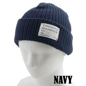 米海軍沿岸警備隊 ワッチキャップ HC040YN ネイビー 【レプリカ】 - 拡大画像