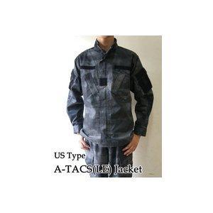 アメリカ警察A-TAC S( LE)ナイト カモフラージュリップストップジャケット( 迷彩) JB027YN M 【 レプリカ 】  - 拡大画像