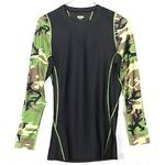 アメリカ軍 タクティカルトレーニングアンダーシャツ 【 長袖/XLサイズ 】 Y M615004 ウッドランド 【 レプリカ 】  border=