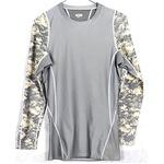 アメリカ軍 タクティカルトレーニングアンダーシャツ 【 長袖/XLサイズ 】 Y M615004 ACU 【 レプリカ 】  border=