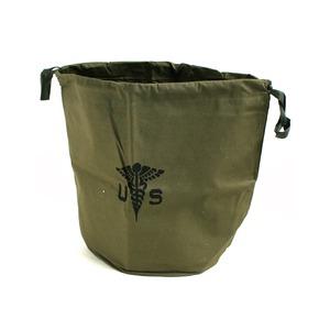 米軍放出 USホスピタルパーソナルバッグ BE013NN オリーブ 【 デットストック 】 【 未使用 】  - 拡大画像