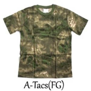 カモフラージュ Tシャツ( 迷彩 Tシャツ) JT048YN A-TAC S(FG) Lサイズ - 拡大画像
