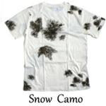 カモフラージュ Tシャツ( 迷彩 Tシャツ) JT048YN BWスノー カモ Mサイズ