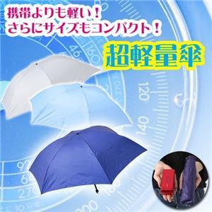 軽大自慢 軽量傘  ネイビー - 拡大画像