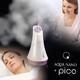 プラソニエ アクアナノ+ピコ(Hエッセンス10袋&フェイシャルマスク10枚付) ミスト美顔器 - 縮小画像1