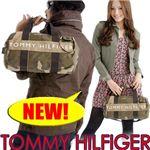 TOMMY HILFIGER(トミーヒルフィガ―) 迷彩柄 ミニダッフルバッグ Mini Duffle cam