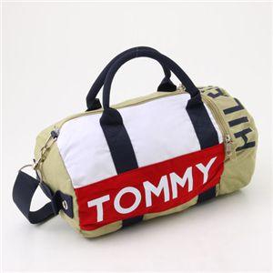 TOMMY HILFIGER(トミーヒルフィガー) ミニダッフルバッグ Mini Duffle I 261・Khaki - 拡大画像