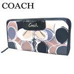 COACH(コーチ) ジップアラウンド 長財布 マルチカラー F46330 SV/MC