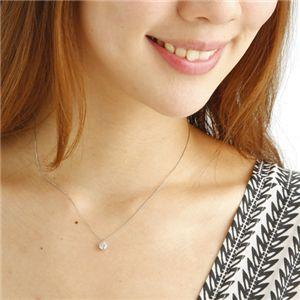 0.5ctダイヤモンドネックレス