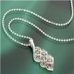 0.5ct大粒10石ダイヤモンドペンダント/ネックレス