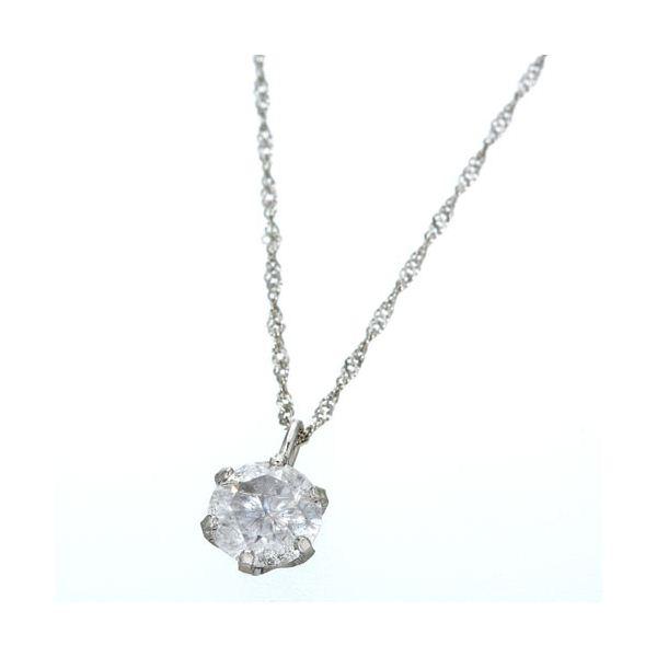 プラチナPt900 ダイヤモンド0.4ctペンダント/ネックレスのポイント2