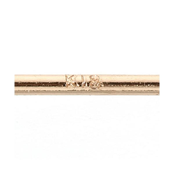 【訳あり・在庫処分】0.2ctダイヤモンドピアス ダブルキャッチ付き K18ピンクゴールド (ピンクゴールド)