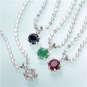 4大宝石ネックレスセット - 拡大画像