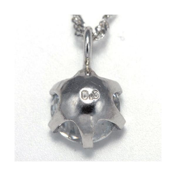 純プラチナ 0.3ctダイヤモンドペンダント/ネックレスのポイント3