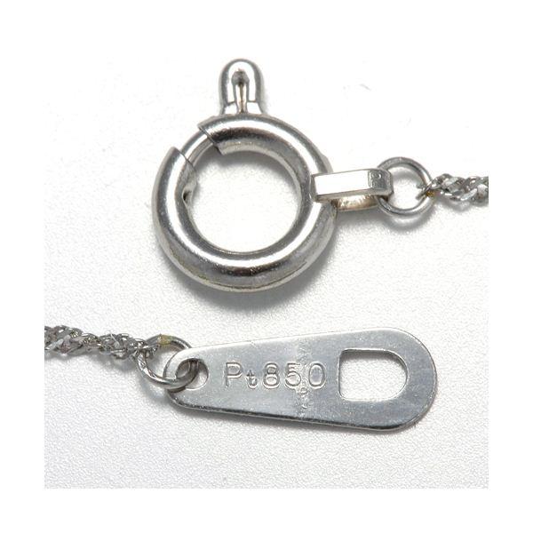 純プラチナ 0.3ctダイヤモンドペンダント/ネックレスのポイント4