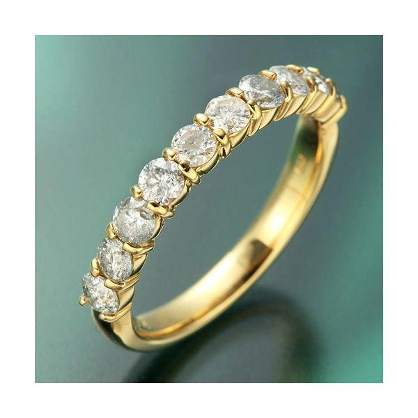 K18YG(イエローゴールド) ダイヤリング 指輪 1.0ctエタニティリング 9号3