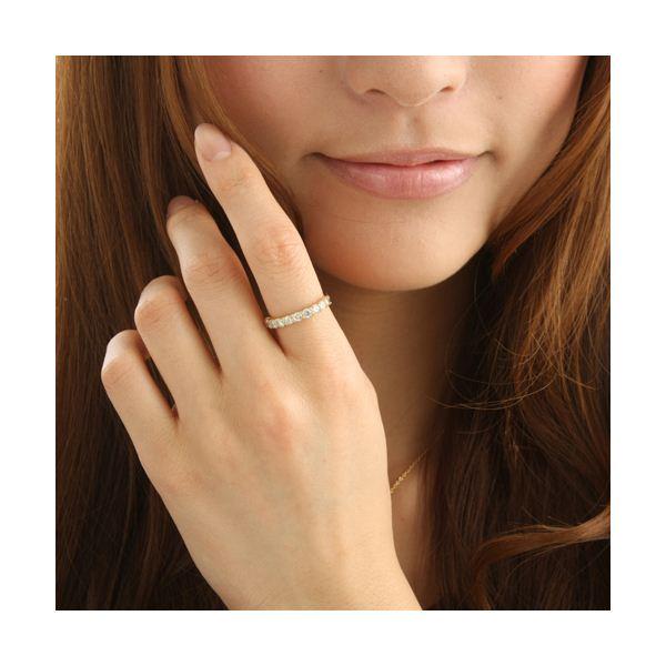 K18YG(イエローゴールド) ダイヤリング 指輪 1.0ctエタニティリング 9号1