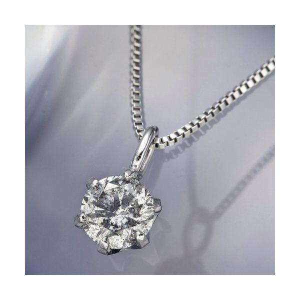 プラチナPt0.1ctダイヤモンドペンダント/ネックレスのポイント3