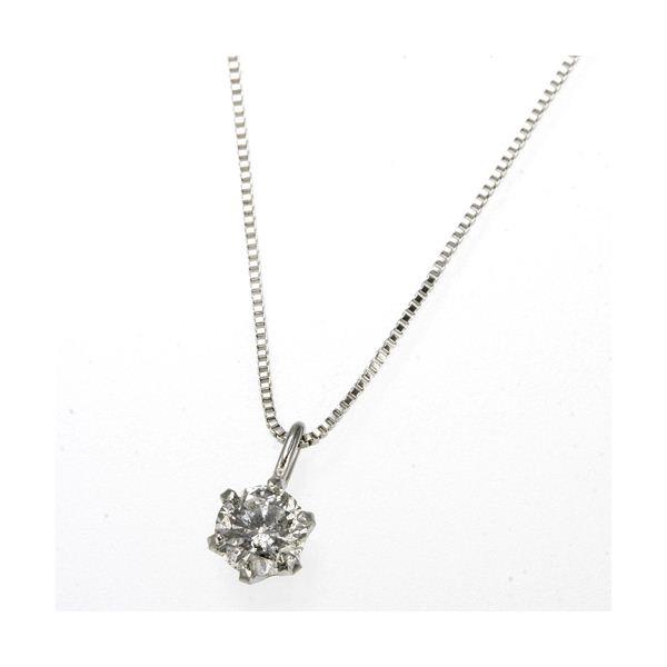 プラチナPt0.1ctダイヤモンドペンダント/ネックレスのポイント2