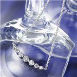 0.5ctティアラダイヤモンドペンダント/ネックレス