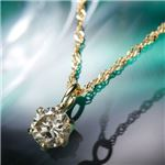 K18YGブラウンダイヤモンドペンダント/ネックレス