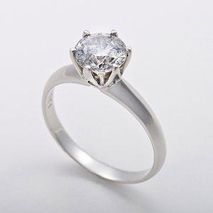 プラチナ 1.2ctダイヤモンドリング