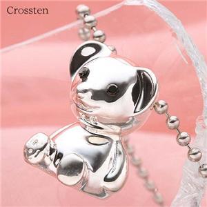 クロステン(Crossten)ブランド!クリスマスベアネックレス - 拡大画像